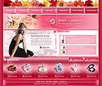 webdesign : massage, product, cream
