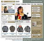 webdesign : clothes, sell, shirts