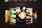 webdesign : dish, testimonials, cookbook