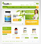 webdesign : vitamins, supplies, healthy