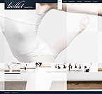 webdesign : ballet, scene, dances