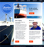 webdesign : transportations, shipping, services