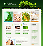 webdesign : nature, doctor, homeopathy
