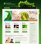webdesign : holistic, mind, cure