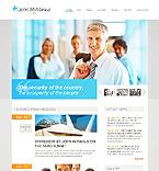 webdesign : political, chairman, information
