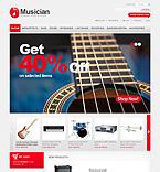 webdesign : musician, loud, instruments