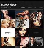 webdesign : shot, photoportfolio, gallery