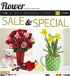 webdesign : gifts, order, bouquet