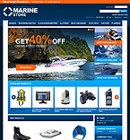 webdesign : marine, sell, navigation