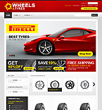 webdesign : wheels, on-line, spares