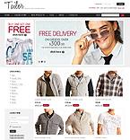 webdesign : store, men, jacket