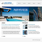 webdesign : buildings, solutions, windows
