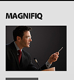 webdesign : magnifiq, analytics, limited