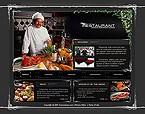 webdesign : menu, taste, testimonials