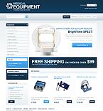 webdesign : equipment, store, veterinary