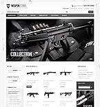 webdesign : Taser, Ruger, Military