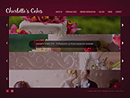 webdesign : wedding, dessert, celebration