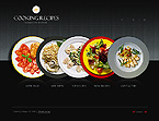 webdesign : recipes, webpage, dish