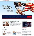 webdesign : politician, election, program
