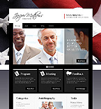 webdesign : politician, donation, candidates