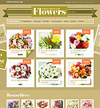 webdesign : flowers, lilies, packing