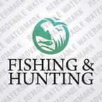 webdesign : fishing, rod, binocular