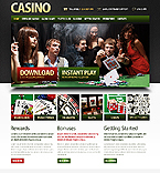 webdesign : poker, fortune, players