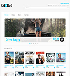 webdesign : movies, shop, blue-ray