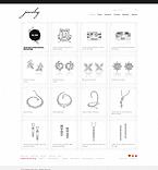 webdesign : art, ear-ring, brooch
