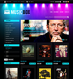 webdesign : mp3, player, tempo