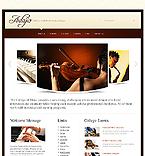 webdesign : adagio, education, tunes