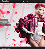 webdesign : gallery, photographer, cameras