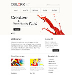 webdesign : painting, projects, dye
