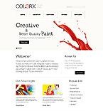 webdesign : company, gallery, brushes
