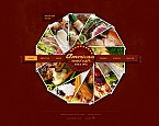 webdesign : wine, testimonials, cookbook