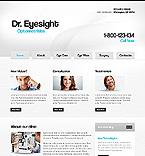 webdesign : medicine, eye, ophthalmology