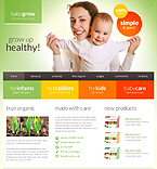 webdesign : baby, infants, nutrients