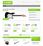 webdesign : Gear, products