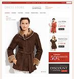 webdesign : swimsuit, dress, prices