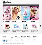 webdesign : shop, cosmetic, peeling