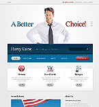 webdesign : campaign, constitution, election