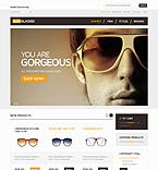 webdesign : bifocal, brands, sunglasses
