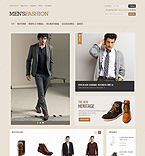 webdesign : store, jacket, clothes