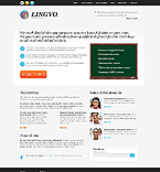 webdesign : language, center, teacher