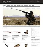 webdesign : shooting, hunter, holsters