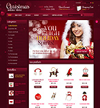 webdesign : Claus, snowmen, jewelry