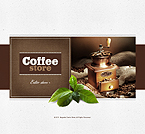 webdesign : coffee-beans, ground, sales