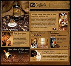 webdesign : brand, cup, prices