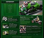 webdesign : bike, model, racing