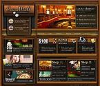webdesign : card, tournament, player